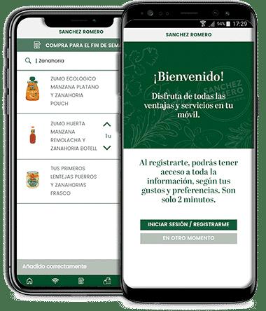 App de Sanchez Romero Supermercados